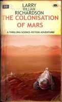 Cover for 'The Colonisation of Mars'