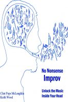 Cover for 'No Nonsense Improv'