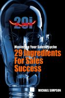 Cover for '29i - 29 Ingredients For Sales Success'