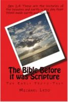 Cover for 'The Bible Before Scripture'