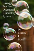 Cover for 'Biology Practice Questions: Respiratory System'