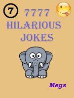 Cover for 'Jokes : 7777 Hilarious Jokes - Jokes for all Occasions'