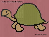 Cover for 'Turtle Cross Stitch Pattern'