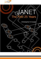 Cover for 'Janet: The First 25 years'