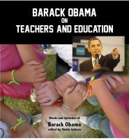 Cover for 'Obama on Teachers and Education'