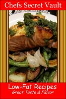 Cover for 'Low-Fat Recipes - Great Taste & Flavor'