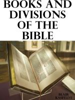 Cover for 'Books and Divisions of the Bible'