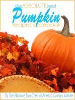 Cover for 'The Absolute Best Pumpkin Recipes Cookbook'