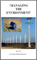 Cover for 'Managing the Environment'