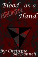 Cover for 'Blood on a Broken Hand'