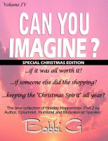 "Cover for 'Holiday Happenings, Part 2, ""Can You Imagine...?"" Volume IV'"