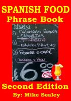 Cover for 'Spanish Food Phrase Book & Dictionary'