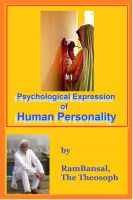 Cover for 'Psychological Expression of Human Personality'