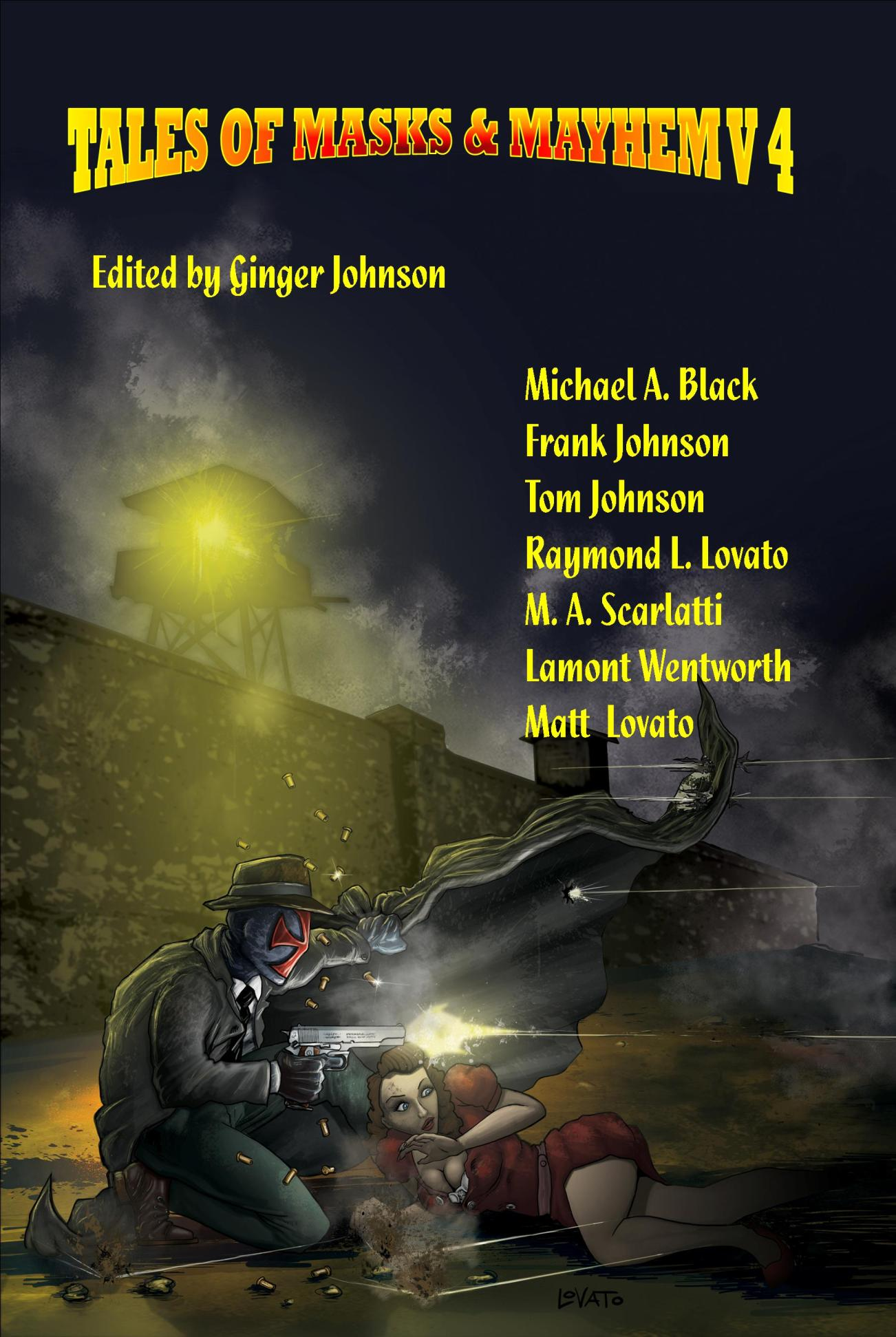Tom Johnson - Tales of Masks & Mayhem V4