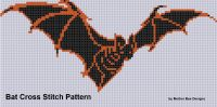 Cover for 'Bat Cross Stitch Pattern'
