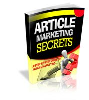 Cover for 'Article Marketing Secrets'