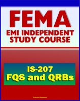 Cover for '21st Century FEMA Study Course: Overview of the FEMA Qualification System (FQS) and Qualification Review Boards (QRBs) IS-207'