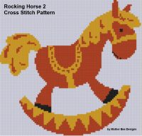 Cover for 'Rocking Horse 2 Cross Stitch Pattern'