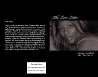 Cover for 'The Love Letter'