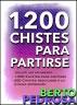 1200 Chistes para partirse: La colección de chistes definitiva by Nuevos Autores