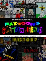 Cover for 'Raytoons Cartoon Avenue Volume 1'