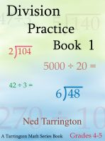 Cover for 'Division Practice Book 1, Grades 4-5'