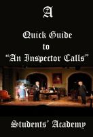 "Cover for 'A Quick Guide to ""An Inspector Calls""'"