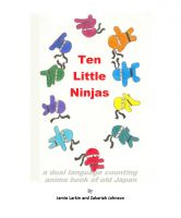 Cover for 'Ten Little Ninjas'