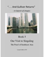"Cover for '""And Gulliver Returns"" Book 5  Our Visit to Singaling'"