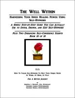 Cover for 'The Well Within -- Self-Hypnosis for Enhancing Self-Confidence'
