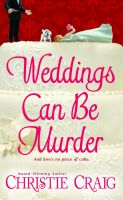 Cover for 'Weddings Can Be Murder'