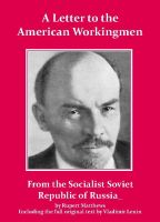 Cover for 'Lenin's Letter to the American Workingmen'