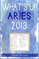 Cover for 'What's Up Aries 2013'