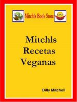 Cover for 'Mitchls Recetas Veganas'