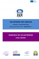 Cover for 'Volunteers for Families'
