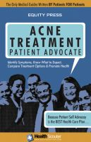 Cover for 'Acne Treatment Patient Advocate'