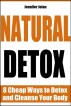 Natural Detox - 8 Cheap Ways to Detox and Cleanse Your Body by Jennifer Jolan