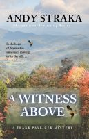 Cover for 'A Witness Above (Frank Pavlicek series #1)'