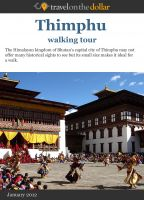 Cover for 'Thimphu Walking Tour'