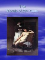 Cover for 'Morals of the Youth'