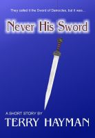 Cover for 'Never His Sword'