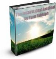 Cover for 'The Inspirational Handbook'