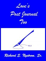 Cover for 'Love's Post Journal Too'