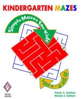 Cover for 'Kindergarten Mazes: Simple Mazes for Kids'
