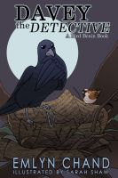 Cover for 'Davey the Detective (A Bird Brain Book)'