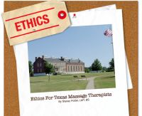 Cover for 'Ethics For Texas Massage Therapists'