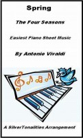SilverTonalities Sheet Music Services - Spring the Four Seasons Easiest Piano Sheet Music