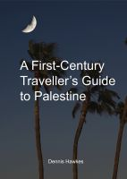 Cover for 'A First Century Traveller's Guide to Palestine'