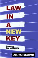 Cover for 'Law in a New Key: Essays on Law and Society'