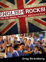 Cover for 'English Rocks! 101 ESL Games, Activities, and Lesson Plans'
